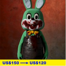 SILENT HILL 3 / Robbie the Rabbit 1/6 Scale Statue, Green Ver.