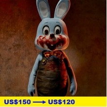 SILENT HILL 3 / Robbie the Rabbit 1/6 Scale Statue, Blue Ver.
